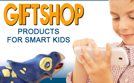 deepblue gift shop products for smart kids