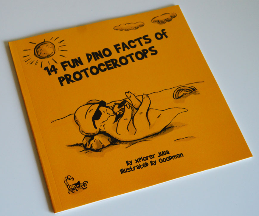 14 fun dino facts of protocerotops