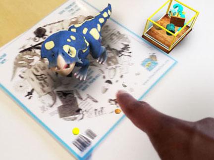 dino on my desk virtual dinosaur plunkett realistic